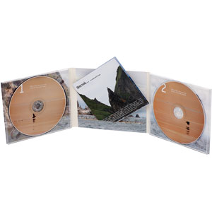 DigiPack CD для 2-х дисков 6-ти страничный с буклетом в прорези